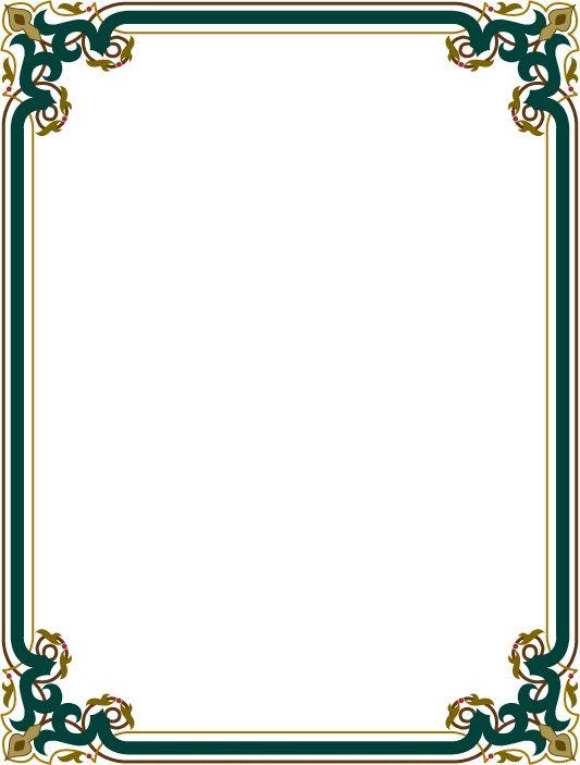 Resultat De Recherche D Images Pour واجهات بحوث جاهزة Word Clip Art Frames Borders Page Borders Design Frame Border Design