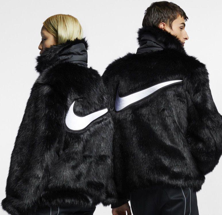 db5f000ee11f7b Nike X Ambush Faux Fur Jacket XL Free Shipping  fashion  clothing  shoes   accessories  mensclothing  coatsjackets (ebay link)