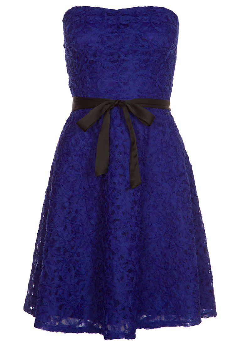 Vestido de cóctel - bleu de chine | Vestidos largos pegados, Vestido ...
