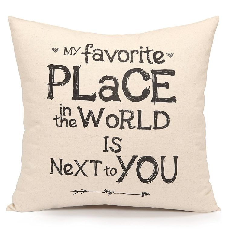 20 Cute Love Quotes For Him From The Heart Living Room Decor Pillows Accent Throw Pillows Diy Pillow Covers