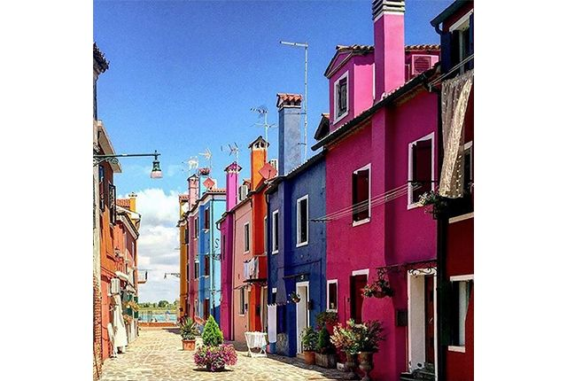 Isola Di Burano, Venezia, Italia