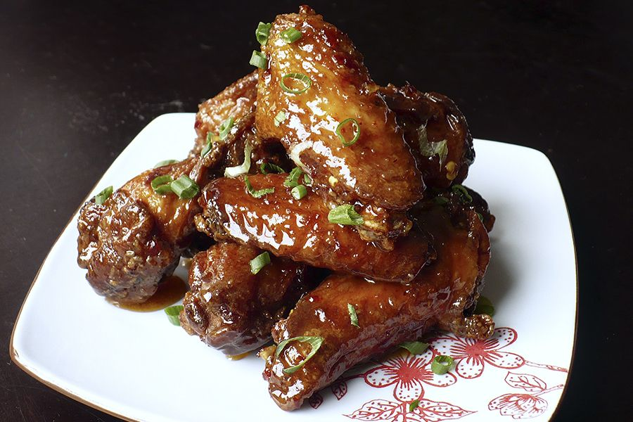 how to cook chicken wings in the oven from raw
