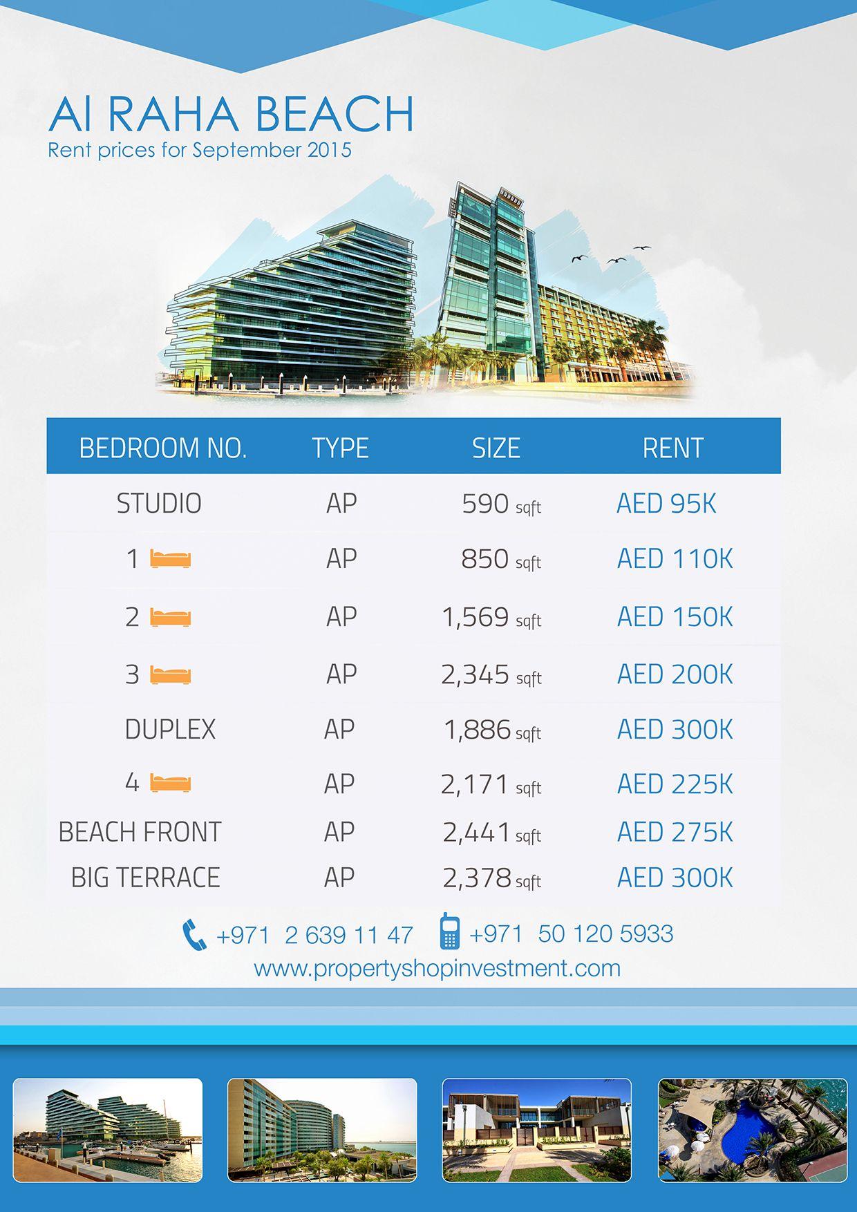 #AlRahaBeach Properties for Rent #inAbuDhabi