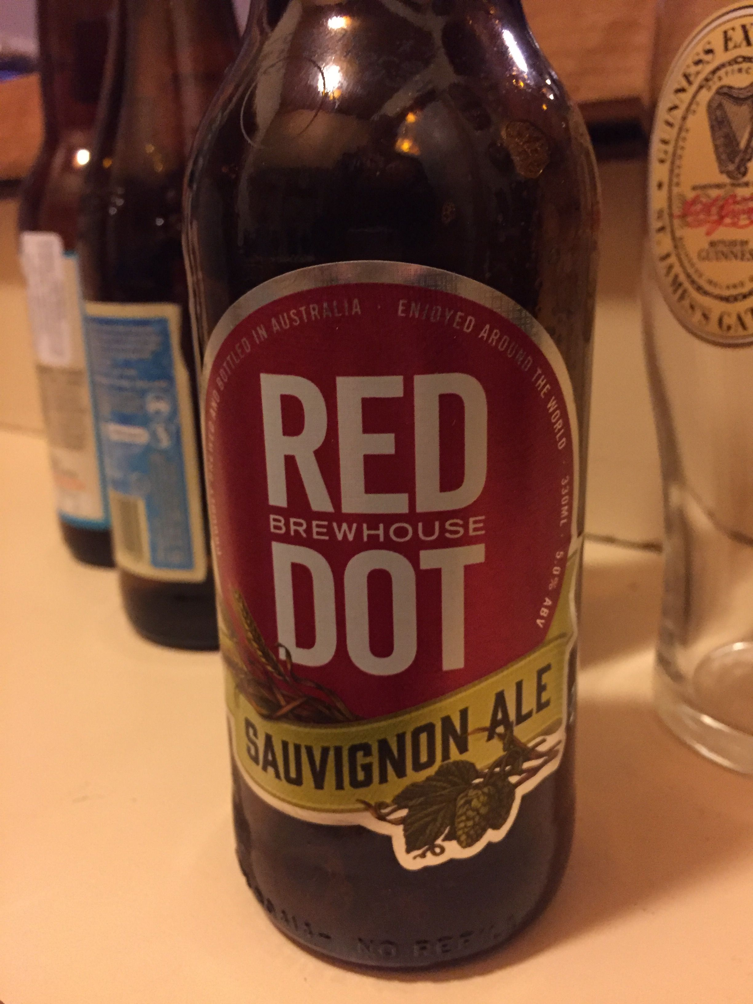 Beer 90 Sauvignon Ale Red Dot Brew House Australia Beer Brewhouse Craft Beer