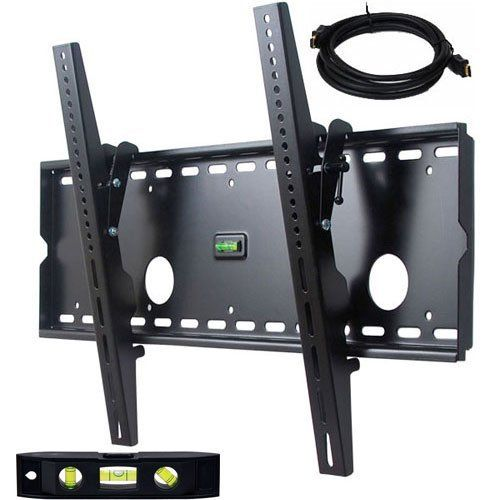 Videosecu Black Tilting Wall Mount Bracket For Sony Kdl 40v2500 Lcd 40 Inch Hdtv Tv With Free 7 Ft Hdmi Cable Ctr By 34 99