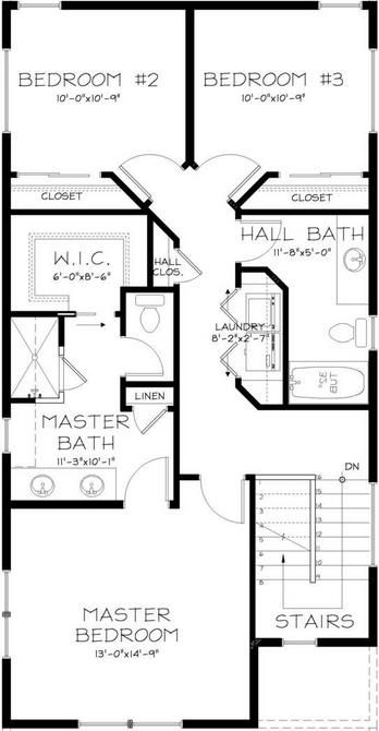 planos de casas 6 x 30