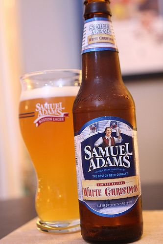 Sam Adams White Christmas.Sam Adams White Christmas Ale Dinner And Movie White