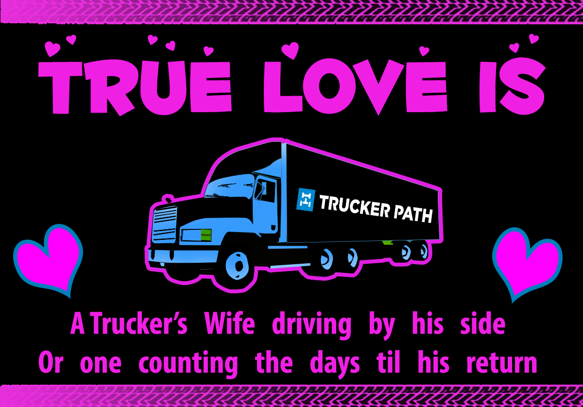 Trucker Quotes Httpstruckerpathtruckerpathapp Rucker Love Semi Truck