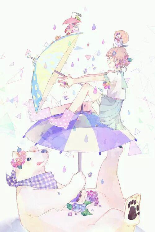 Cute girl || Anime