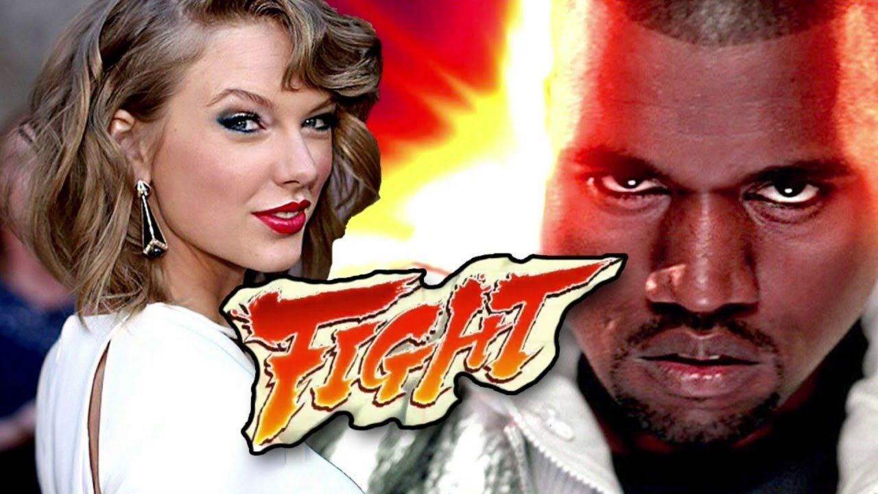 Taylor Swift Vs Kanye West And Kim Kardashian Kanye West And Kim Kanye West Taylor Swift