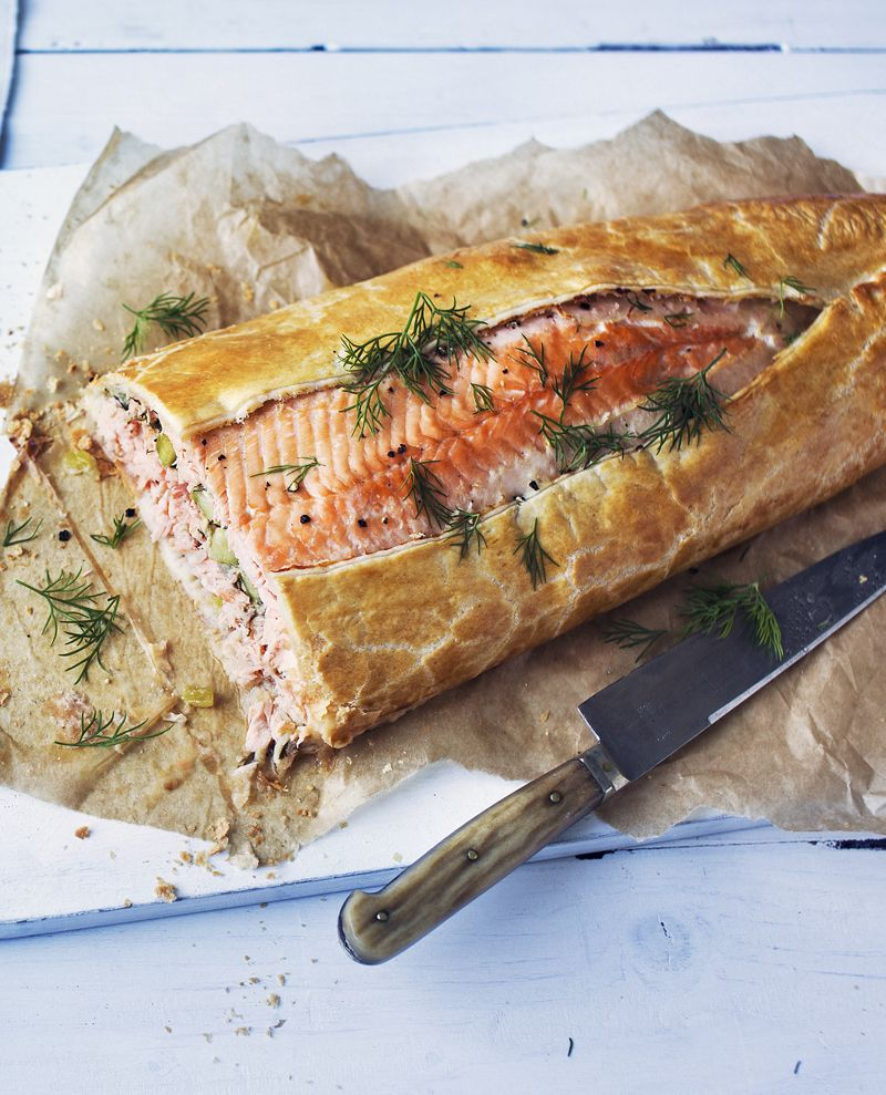 Salmon Wellington Recipe Recipes To Make Pinterest Food