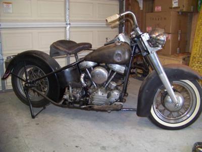 1957 Harley Davidson FL Panhead: The 1957 Harley Davidson FL ...