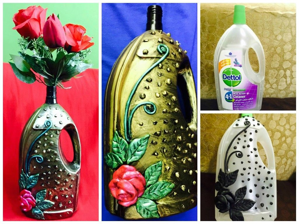 Waste bottle flower vase flower vases bottle and simple craft ideas waste bottle flower vase reviewsmspy