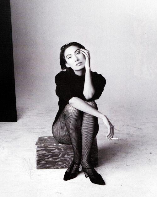 """Anh Duong"", VOGUE Italia, October 1993 Photographer: Steven Meisel Model:"