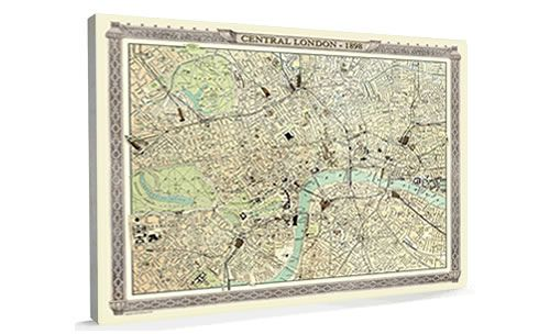 Denim map of the world wedding vintage london map from the royal atlas 1898 large gumiabroncs Gallery