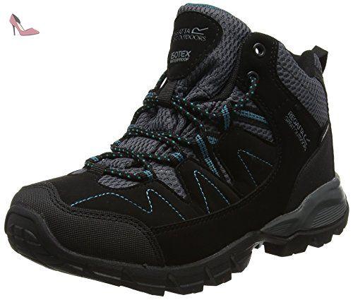 Chaussures Regatta noires femme Gy516m