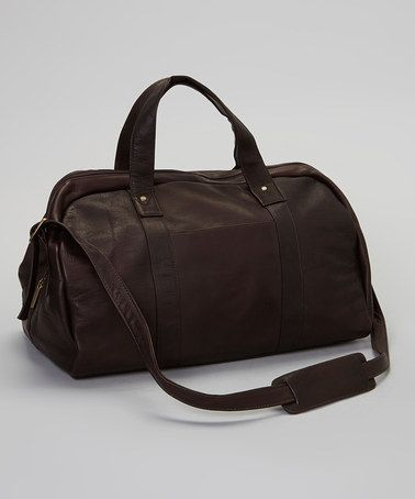 Take a look at this Café A-Frame Duffel Bag by David King & Co. on #zulily today!