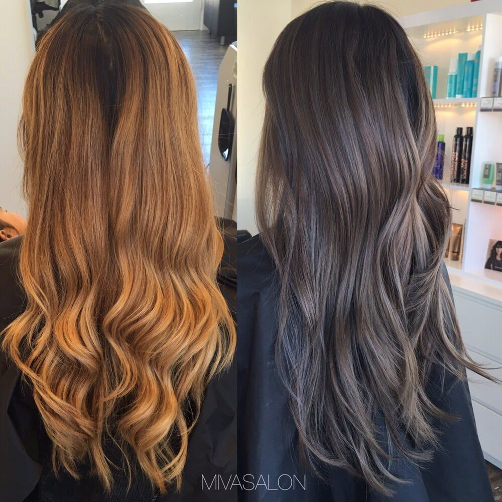Photo Of Miva Salon Hayward Ca United States Before And After
