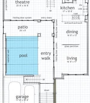 Plans With Indoor Swimming Pool House Floor Presenting Amazing And Patio Rumah