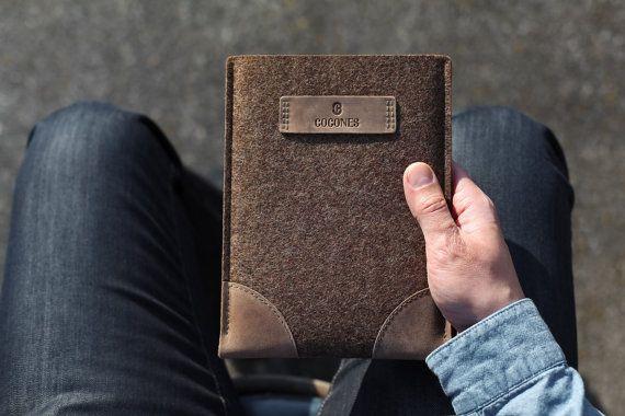 ipad tablet felt leather sleeve