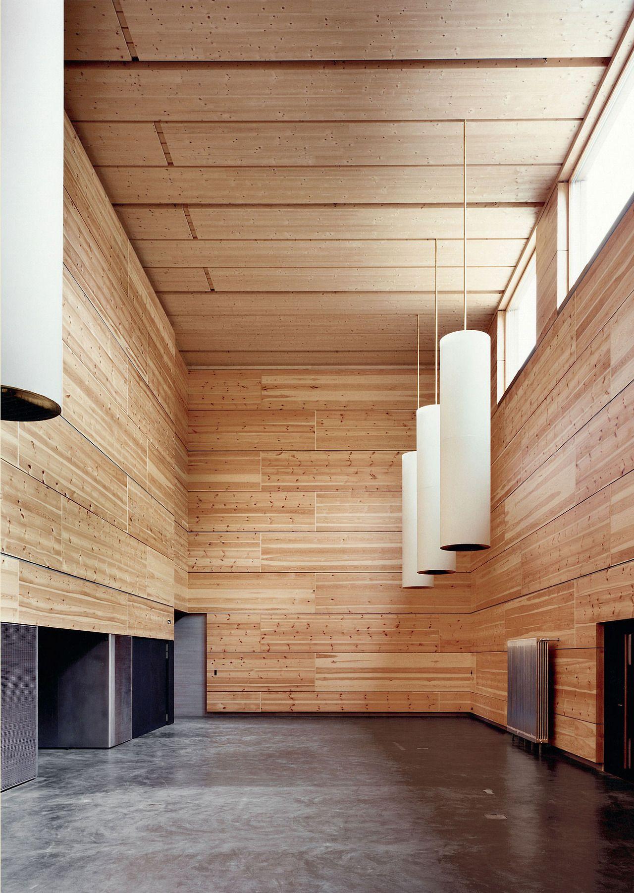 School Of Timber Engineering, Biel 1999