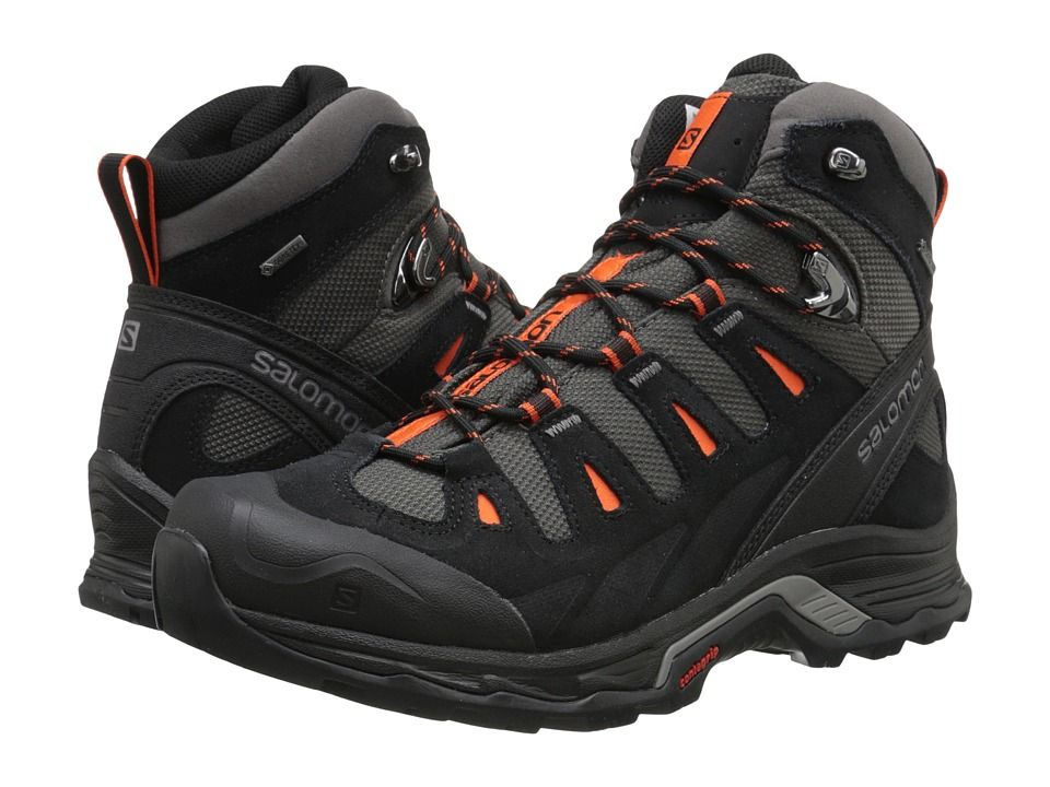 607d1a49f481 SALOMON SALOMON - QUEST PRIME GTX(R) (AUTOBAHN BLACK TOMATO RED) MEN S SHOES.   salomon  shoes