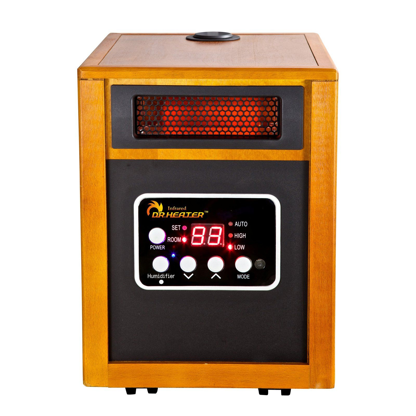 Dr. Infrared Heater DR968H Portable Space Heater with