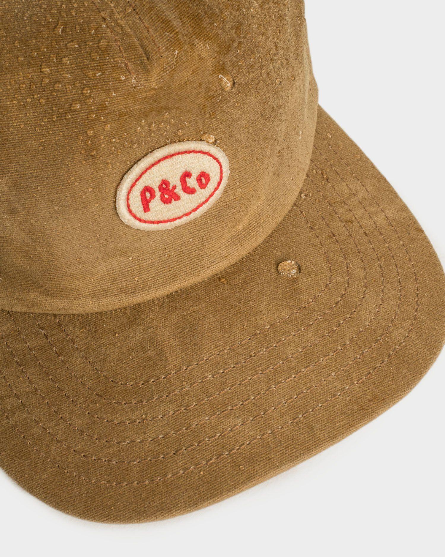 b44ab860a7ee93 Waxed Mechanic Sand 5 Panel Cap | Headwear – P&Co Wax, Baseball Hats,  Baseball