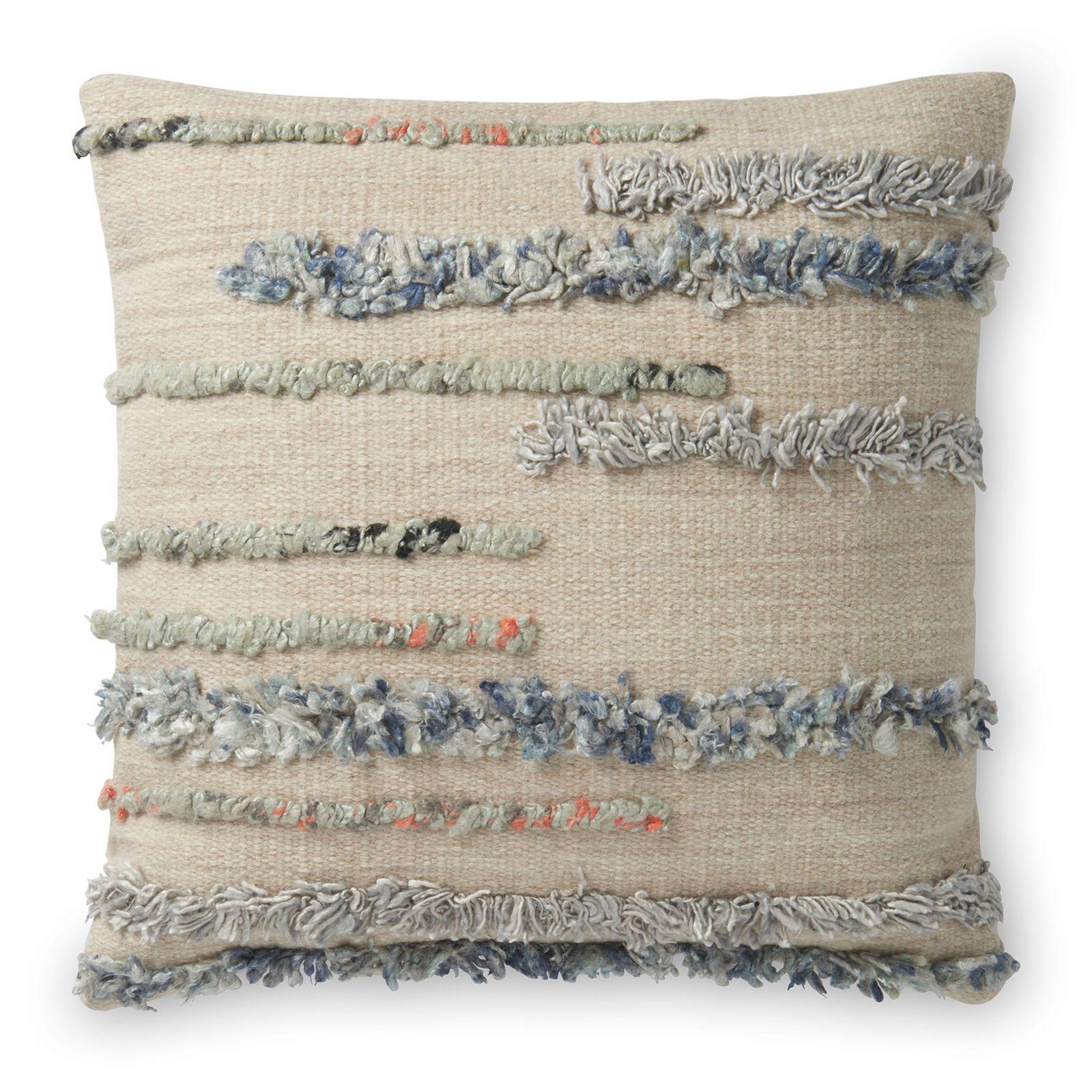 Cynthia Rowley Fringe Pillows: Magnolia Home Harper Pillow