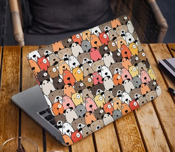 Cute Dogs Laptop Skin Sticker Watercolor Notebook Decal Dell Hp Lenovo Asus Chromebook Acer Laptop Decal Cover Skins For Any Laptop Stickers In 2021 Laptop Case Stickers Laptop Cover Stickers Notebook Decal