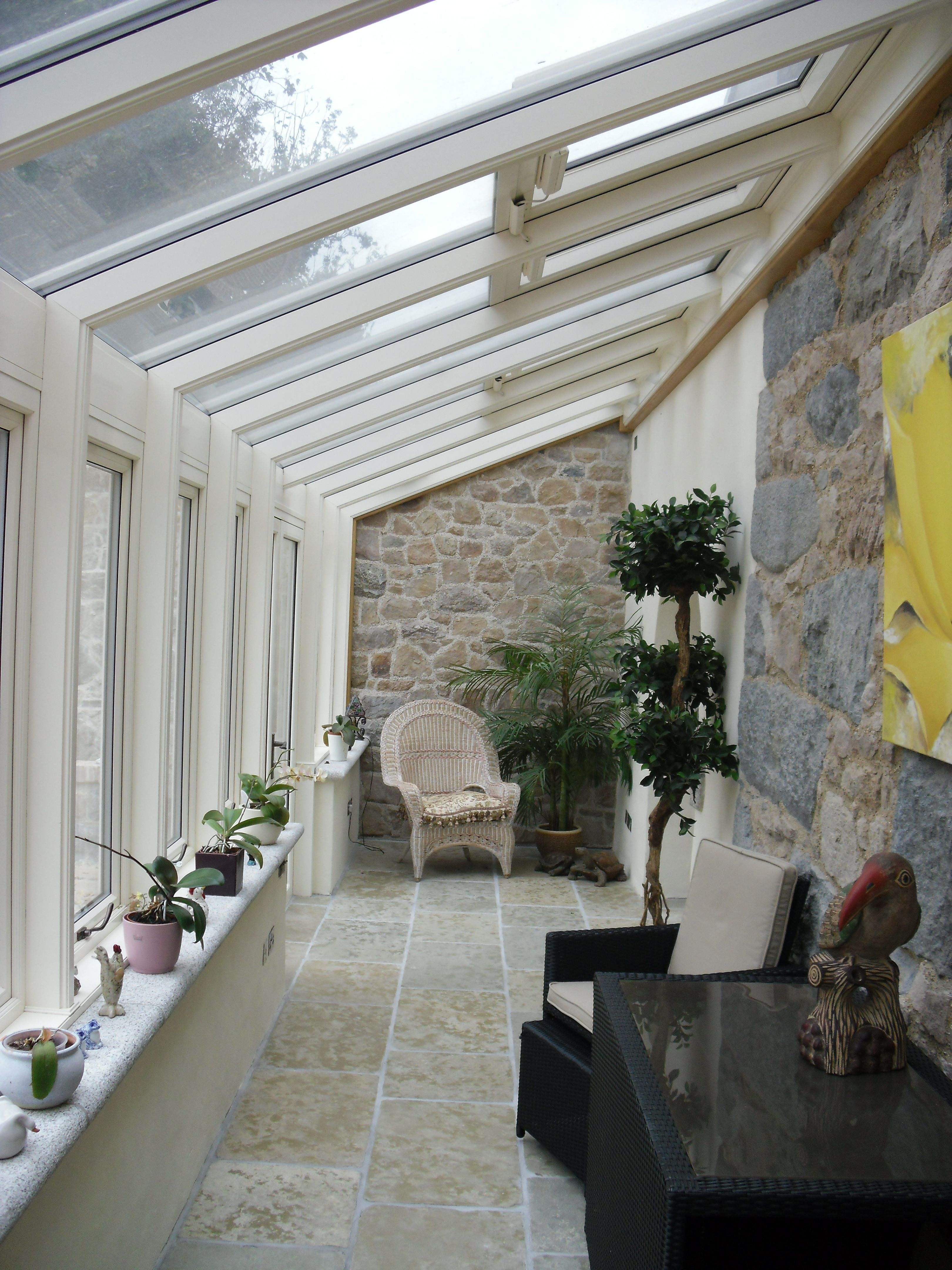 Conservatory Room Addition In The Uk 1040x1485 In 2020: A Glazed Walkway Opens Up The Side Of A House. Works Really Well To Extend A Terrace