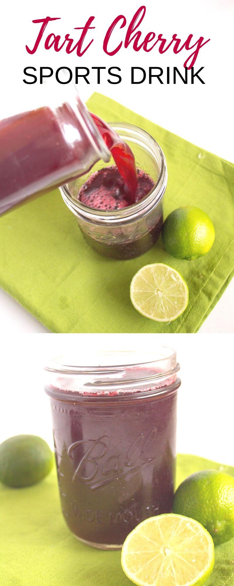 Tart Cherry Sports Drink Recipe Sports drink recipe