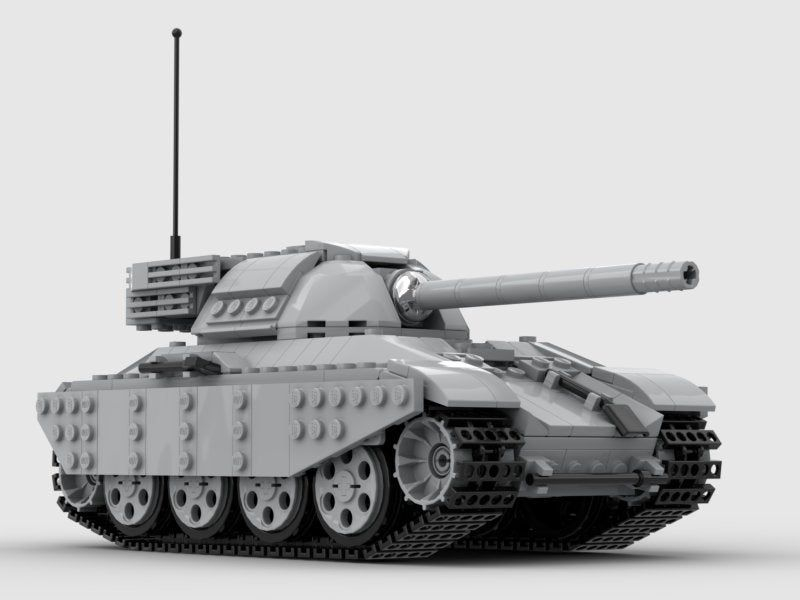 Custom MOC Instructions for M8A2 Tormentor Tank Compatible
