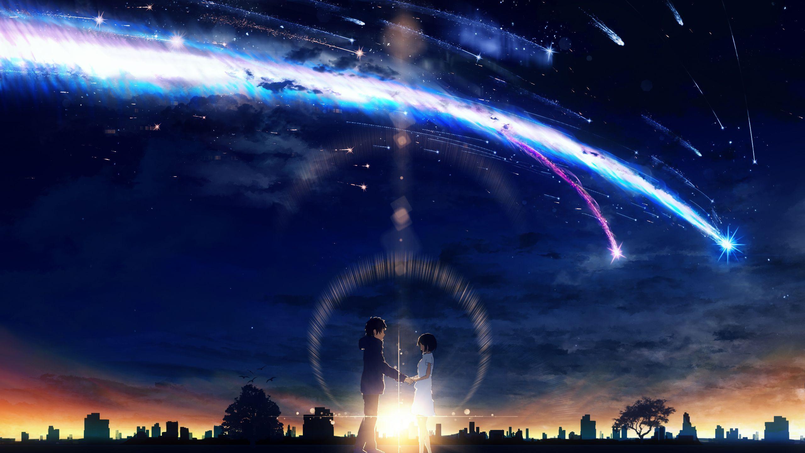 2560x1440 Kimi No Na Wa Your Name Wallpaper 2237875 Zerochan Anime Kimi No Na Wa Cool Anime Wallpapers Name Wallpaper