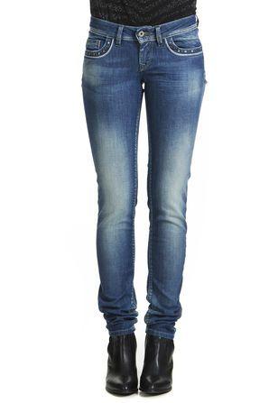 jeans salsa shapeup slim bleu used femme slim jeans femme