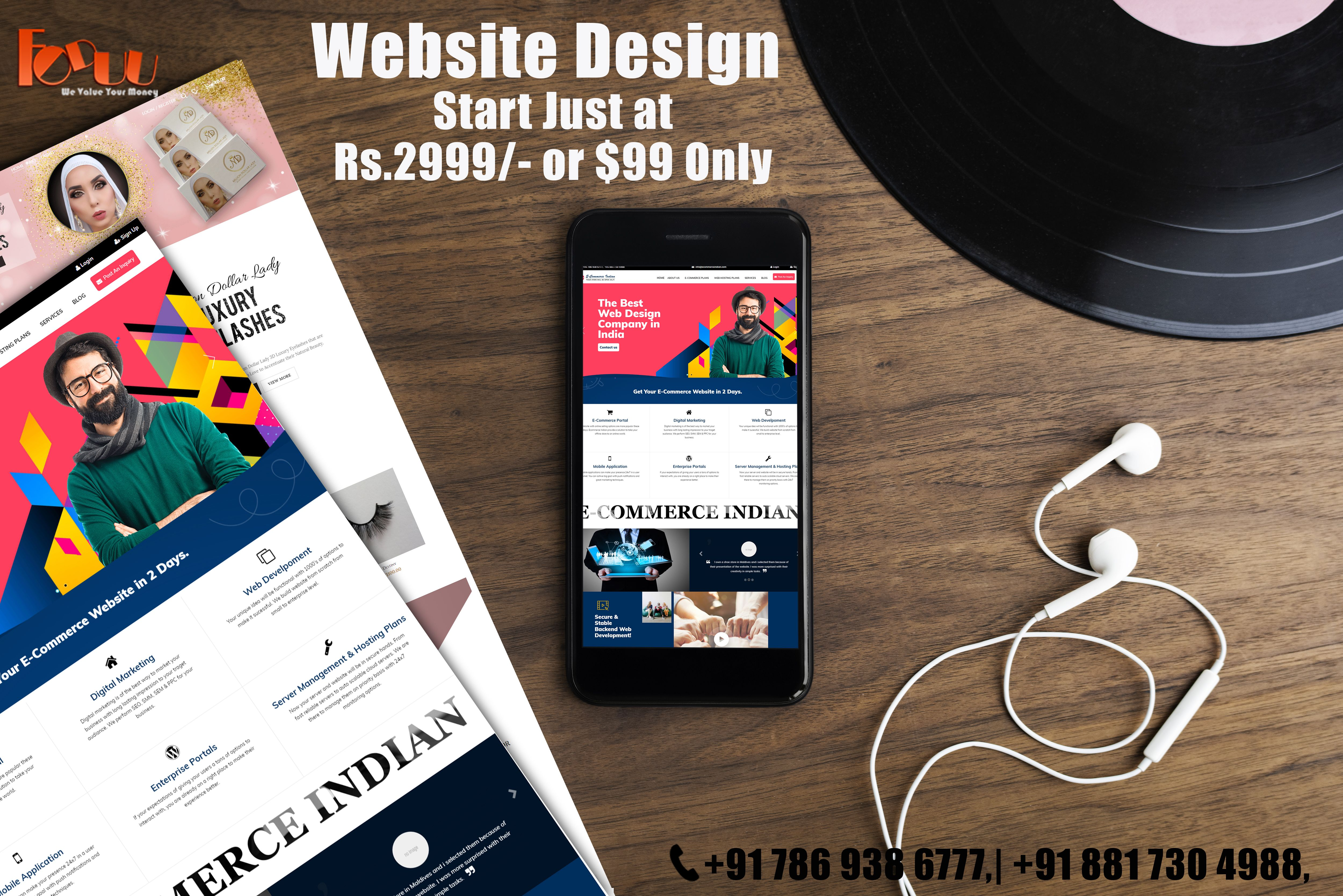 Foduu Is One Of The Leading Website Design Development Company Based In Indore India Offers Quality Web Development Design Web Design Website Design Company