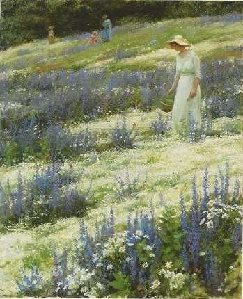 Charles Courtney Curran (1861 – 1942) – Pintor Americano_16