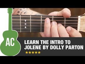 "How to Play ""Jolene"" by Dolly Parton On Guitar - Easy ..."