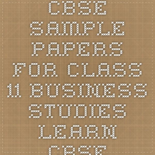 cbse sample papers for class business studies learn cbse  cbse sample papers for class 11 business studies learn cbse
