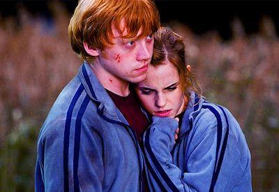 Ron Hermione Hug