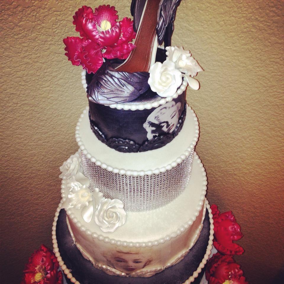 Marilyn monroe ornaments - Marilyn Monroe Cake