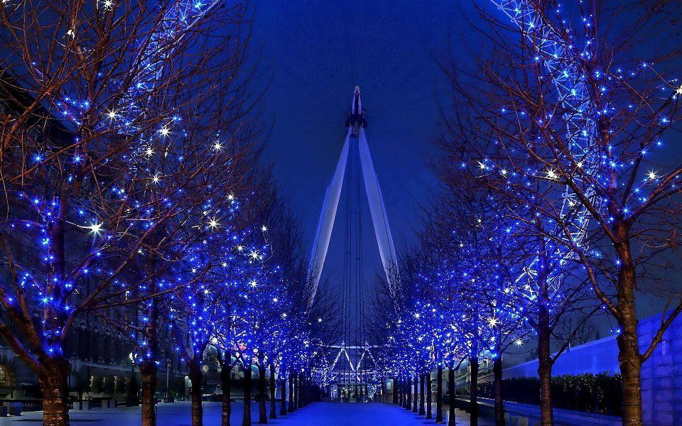 London eye - iluminação de Natal