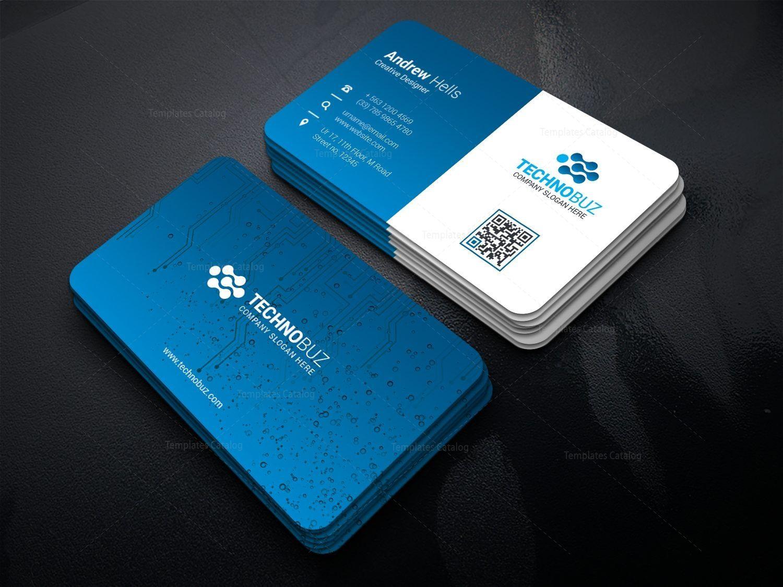 Circuit Technology Business Card Template 000767 Template Catalog Business Cards Creative Business Cards Creative Templates Business Card Template