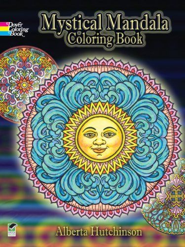 Mystical Mandala Coloring Book Dover Design Books Free Pages On This