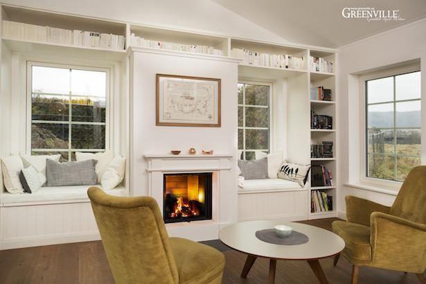 d nische m bel im kaminzimmer wirken leicht und zugleich gem tlich wohnen pinterest. Black Bedroom Furniture Sets. Home Design Ideas