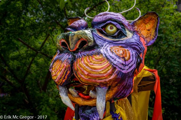BIG CAT - Composition Saturday #PhotoOfTheDay #caturday #Puppet #BigCatPuppet #TigerHead #BigCat #tiger #mask #StreetTheater #catoftheday #instacat #catstagram #catsofinstagram #catlovers #cutecat #catswag #catphotography #catphoto #LoisaidaFest2017 #streetphotography #Art #Photography #NikonPhotography #Nikon #2017 #ErikMcGregor    © Erik McGregor - erikrivas@hotmail.com - 917-225-8963