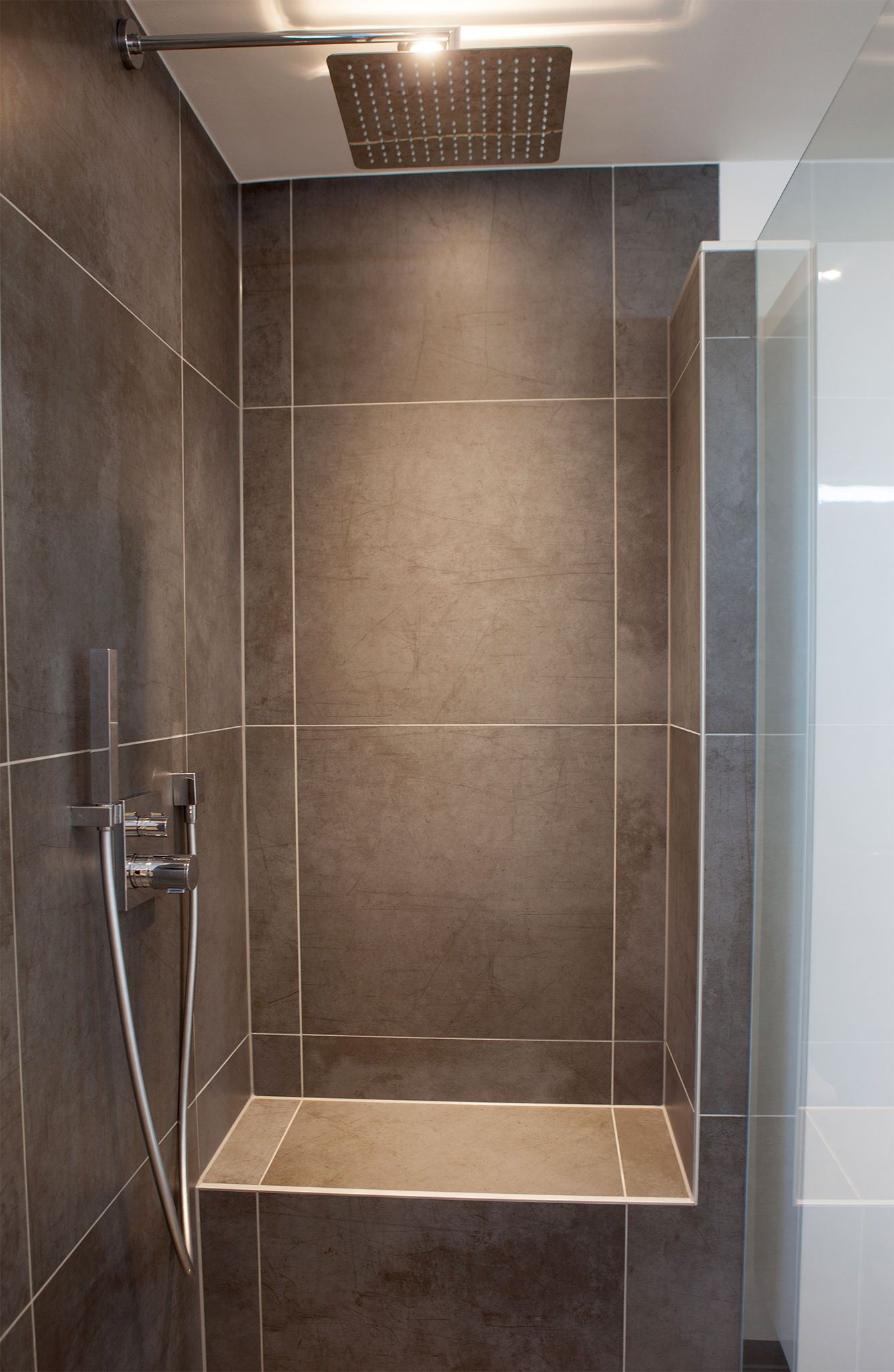 Badezimmer Walk In Shower Shower Bathroom Renovations - Dusche Kleines Bad