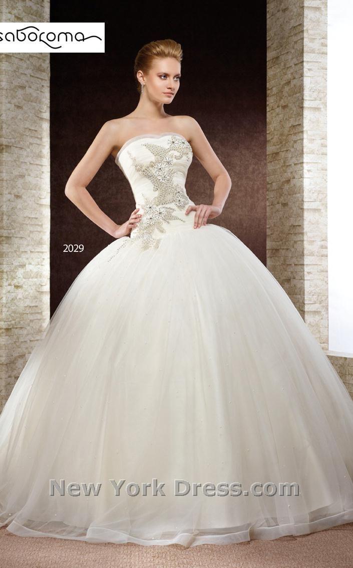GORGEOUS detail on the bodice... Saboroma 2029 Dress. Shop New York ...