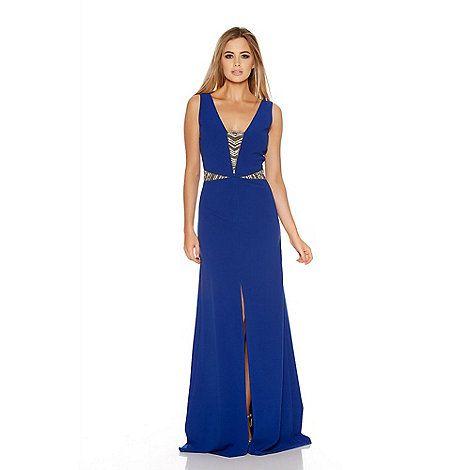 Blue maxi dress debenhams