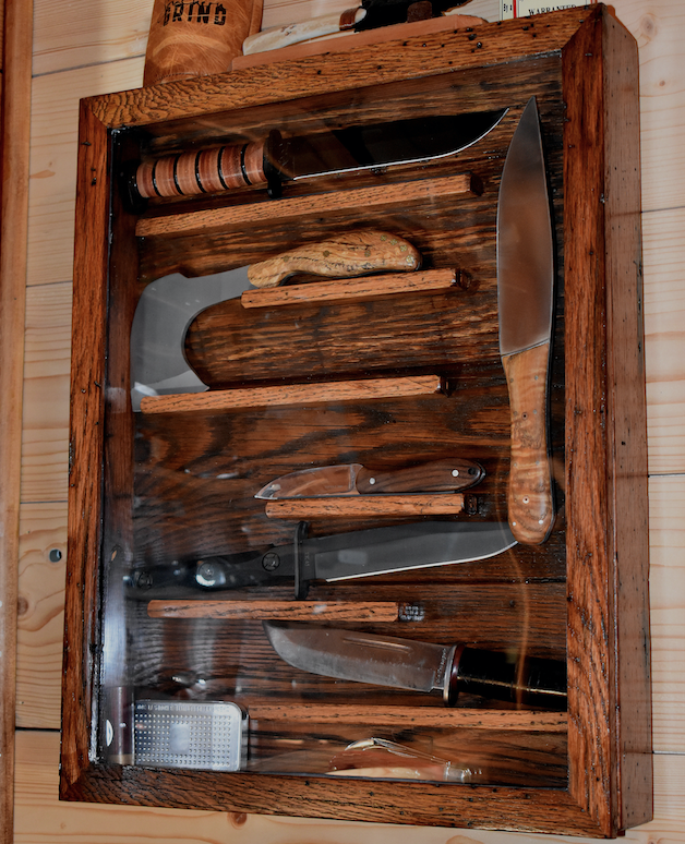 Olde Towne Cutlery Case Knives Knife Display Case Shadow Box Display Case